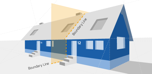 Party Wall Survey Diagram
